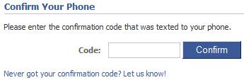 Enter the verification code.