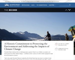 Climate pages
