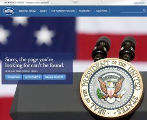 White House 404