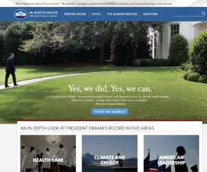 New home for Obama's White House pages