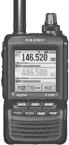 Programming frequencies in the Yaesu FT-2DR/DE – Net Magellan