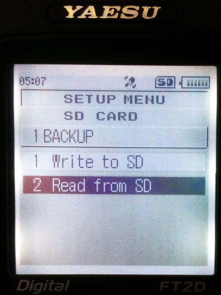 Read SD